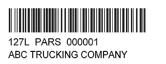 PARS Example Label